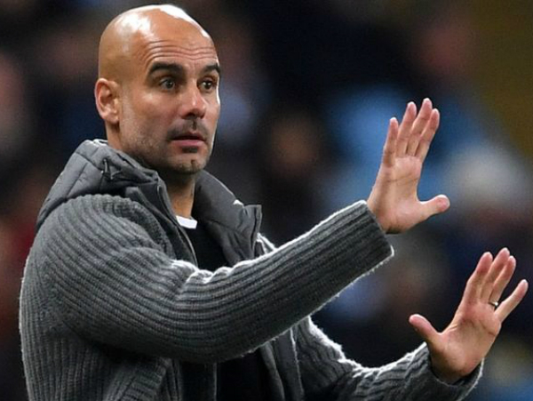 HLV Guardiola khẳng định là sẽ lội ngược dòng trước Tottenham
