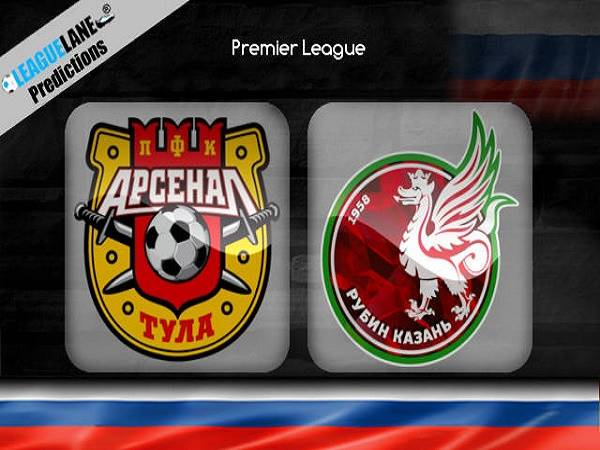 Soi kèo Arsenal Tula vs Rubin Kazan 23h00, 14/3 (VĐQG Nga)