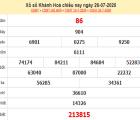 Bảng KQXSKH-Thống kê xổ số khánh hòa ngày 29/07/2020 tỷ lệ trúng lớn
