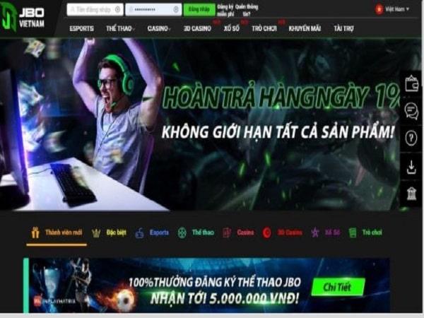 Jbo cá cược Esports tựa game thể thao điện tử cực chất