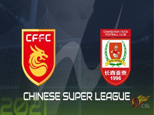 Nhận định Hebei FC vs Changchun YaTai, 19h30 ngày 19/7Nhận định Hebei FC vs Changchun YaTai, 19h30 ngày 19/7