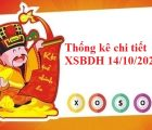 Thống kê chi tiết XSBDH 14/10/2021